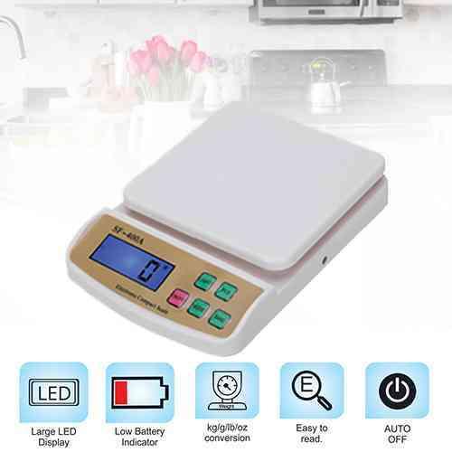 10Kg Digital Kitchen Scale SF400A