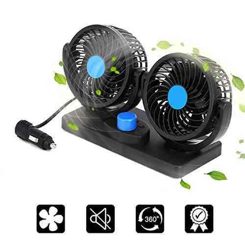 12V Dual Head Fan Price in Sri Lanka