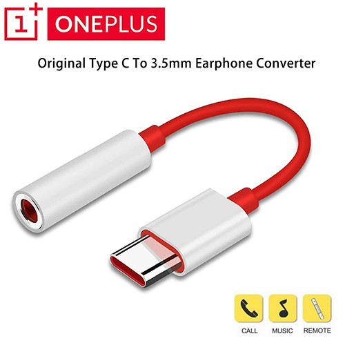 Oneplus Type-C To 3.5mm Aux Audio Earphone Jack Cable