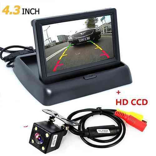 Reverse Camera with Display 4.3 Inch TFT LCD