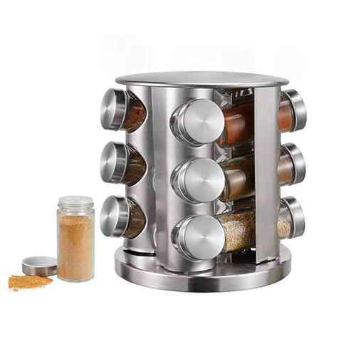 steel spice rack