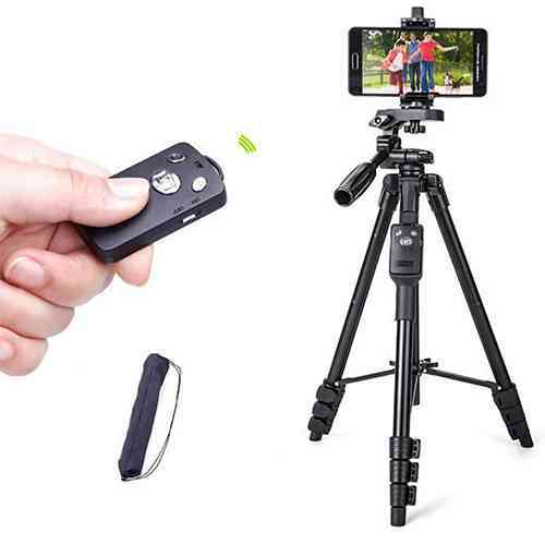Bluetooth Remote Tripod for phone, video camera Tripod TTX-6218