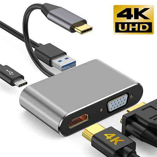 USB C to HDMI VGA Adapter Sri Lanka