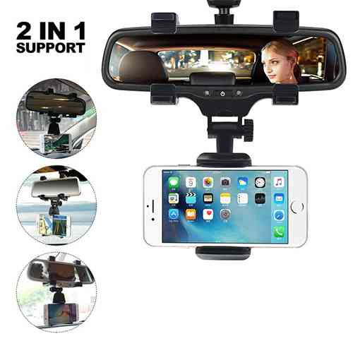 Car Rearview Mirror Mount Stand Holder