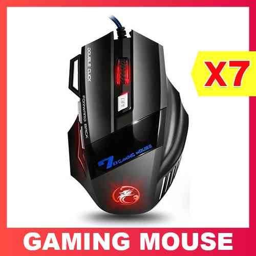 USB Wired Gaming Mouse X7