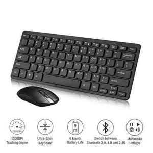 Wireless Slim Keyboard and Mouse 2.4GHZ GKM-901
